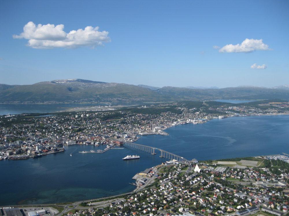 Kijk uit over Trømso met de Fjellheisen [Noorwegen]