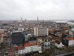 Uitzicht over Antwerpen