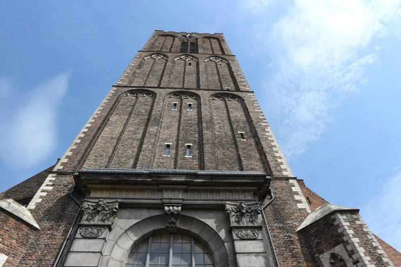Schiedam Sint Janskerk beklimmen