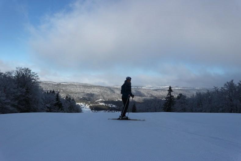 Wintersport in Monts Jura