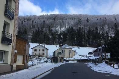 Wintersport in Monts Jura