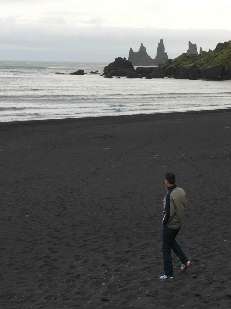 zwarte stranden van Vik