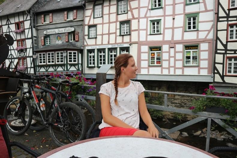Mountainbiken in de Eifel