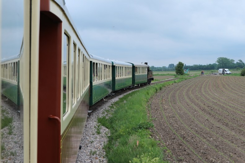stoomtrein naar Saint-Valery-sur-Somme