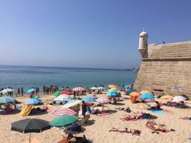 Stranden rond Lissabon