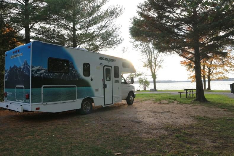 camperreis canada - campings in oost-canada