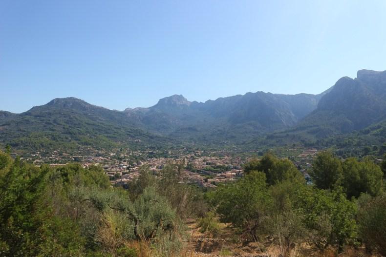 Trein van Soller naar Palma de Mallorca