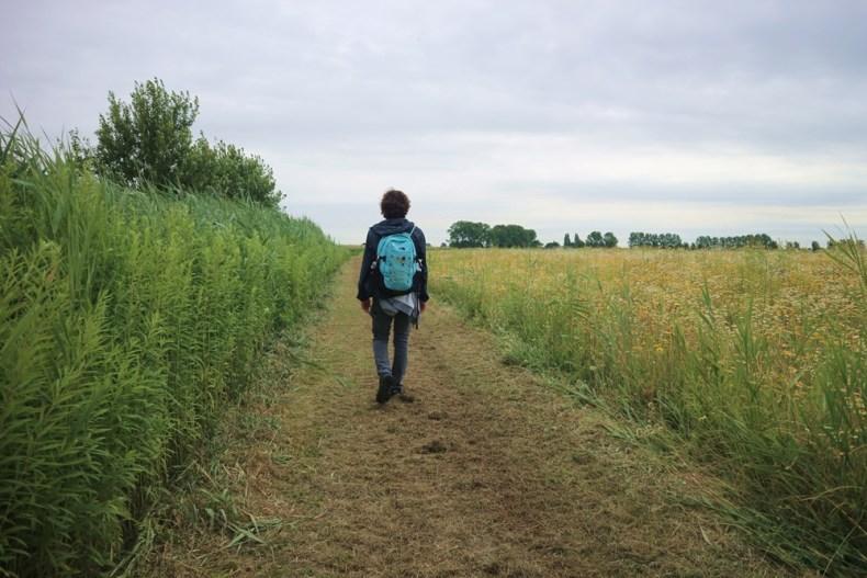 wandelen op Tiengemeten