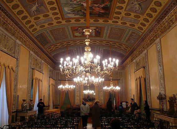 Palerme Palais Des Normands Sicile Italie Maisons