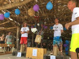 "alt:""Premiazione gara Capo Verde kitesurf"""