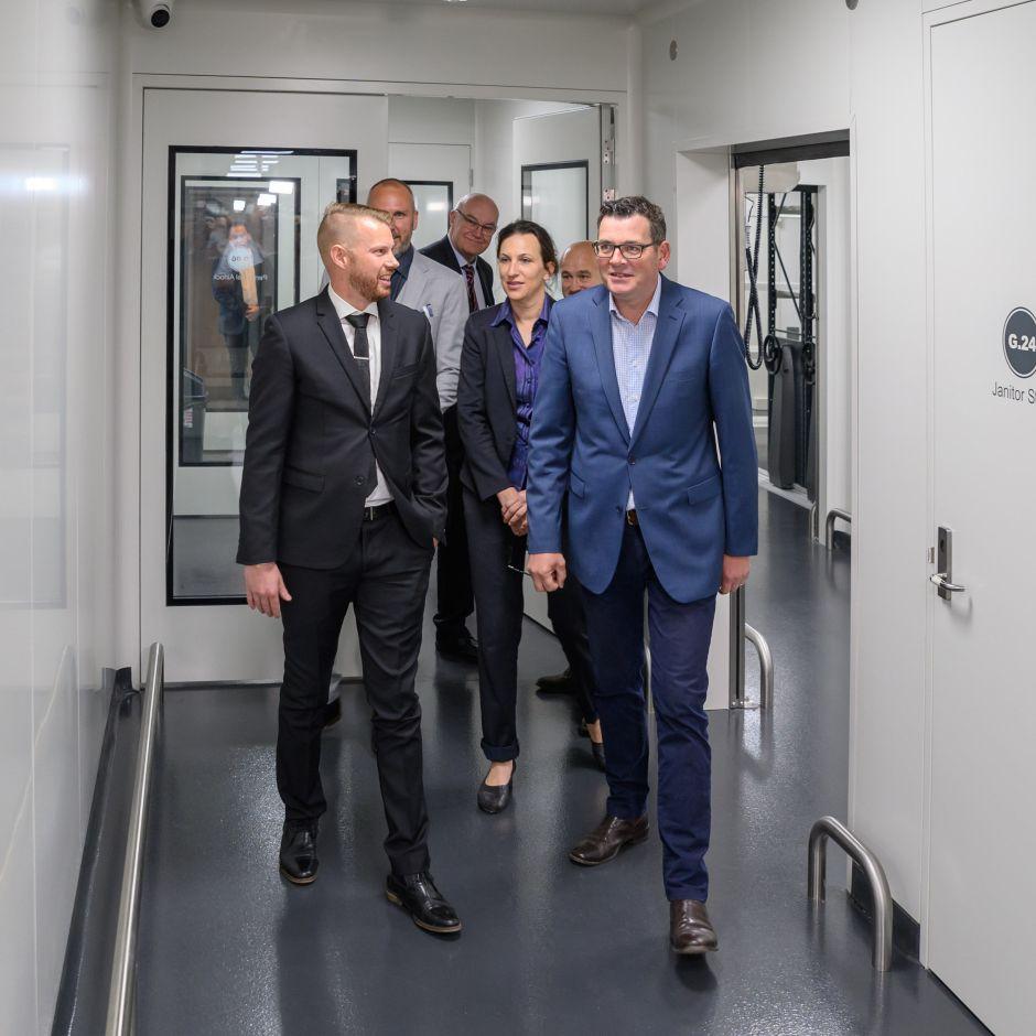 Touring the Facility - MediPharm Labs Australia