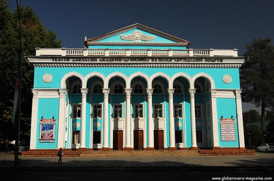 Lahuti Drama Theatre, Dushanbe, Tajikistan