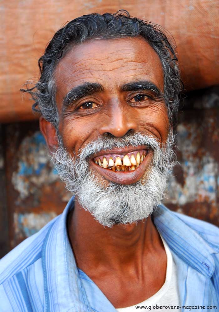 Portraits - Man in Dhaka, Bangladesh
