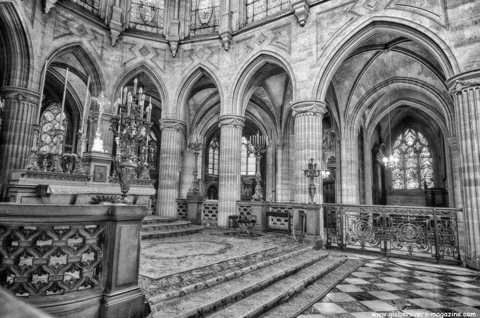 Saint-Germain of Auxerrois Church near Louvre Museum, Paris, FRANCE