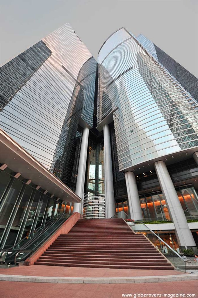 Citibank Plaza in Admiralty, Hong Kong Island