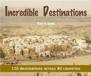 Globerovers Books, Incredible Destinations, Peter Steyn