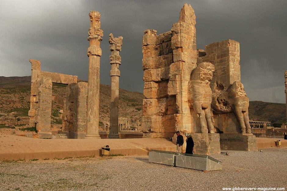 Gate of Xerxes, Persepolis, Iran