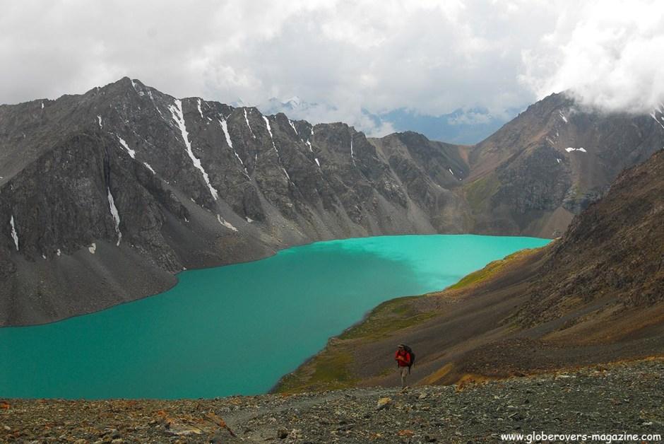 Hiking from Karakul via Ala-Kul Lake to Altyn Arashan, Kyrgyzstan