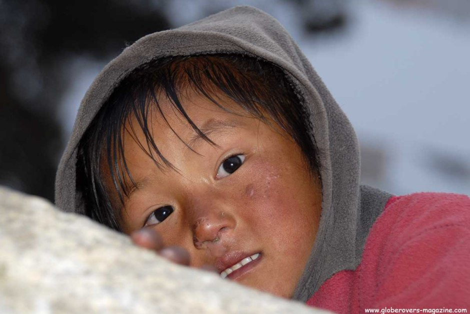 Portraits - Village of Khumjung, Nepal