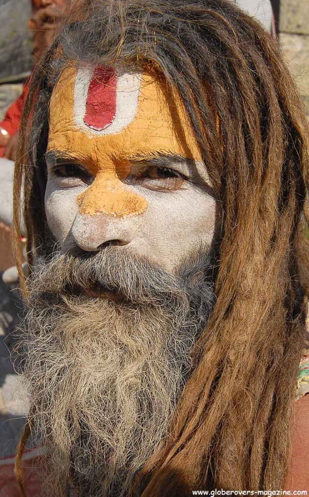 Portraits - Sadhus (holy man), at the Bagmati River, Pashupatinath, Kathmandu Valley, NEPAL