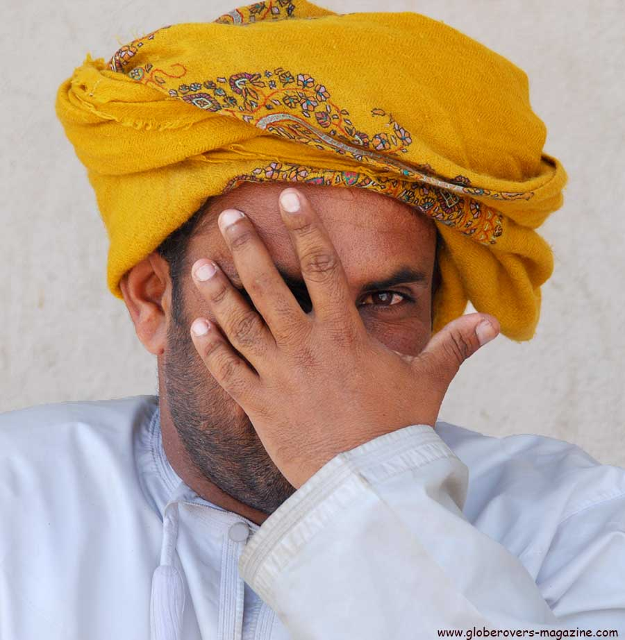 Portraits - Man at the Nizwa Souq, Nizwa, Oman