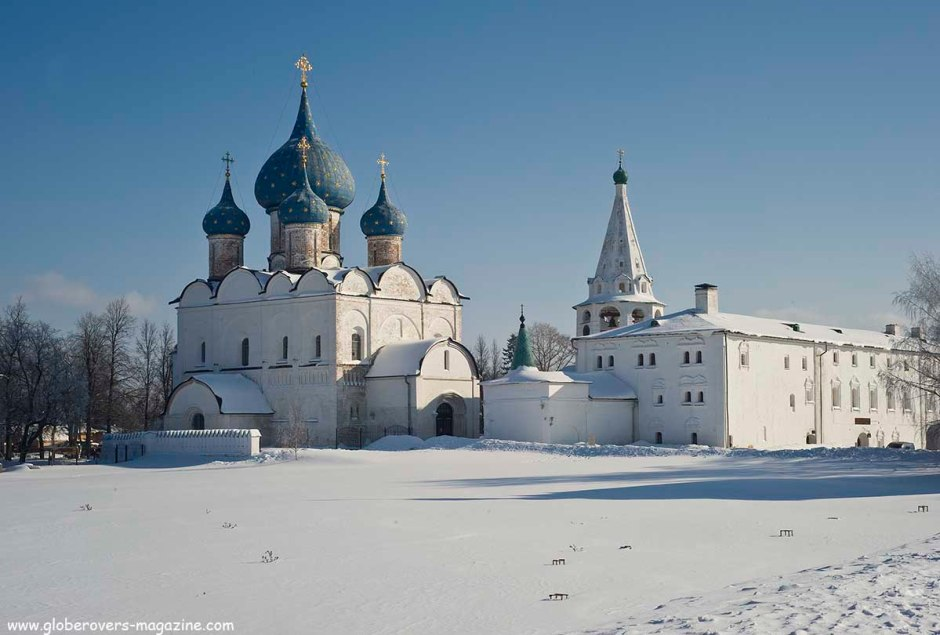 Cathedral of the Nativity Virgin (Rozhdestvensky Cathedral), Suzdal, Russia