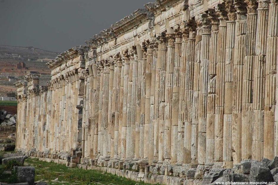 Great Colonnade (Cardo Maximus), Apamea, Syria