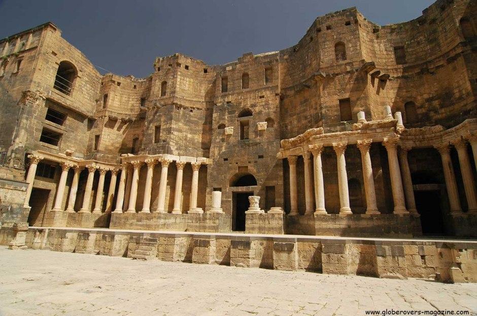 Ancient Roman Theatre, Bosra, Syria