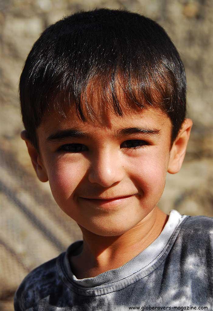Portraits - Boy, Khorog, Tajikistan