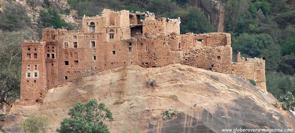 Sana'a to Al-Mahwit, Yemen