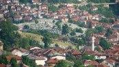 Graveyard and Views from the Sarajevo, Bosnia & Herzegovina