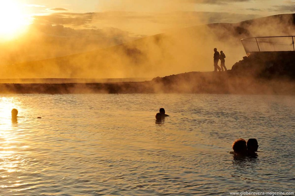 Hot springs at Hverir near Lake Mývatn, Iceland