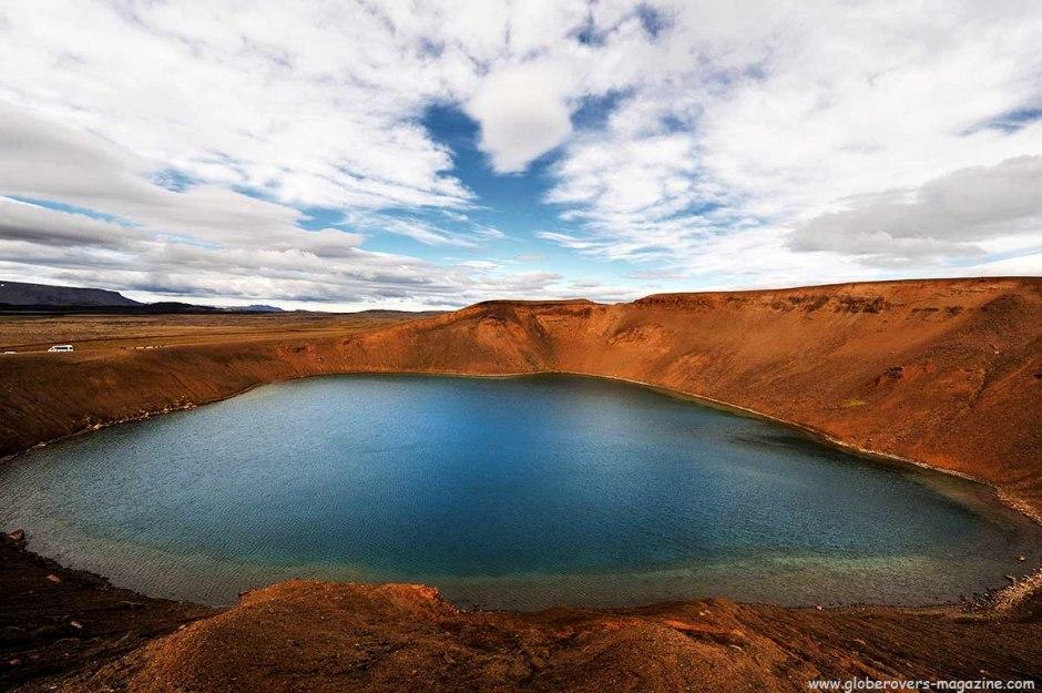 Viti Crater, Lake My´vatn, Iceland