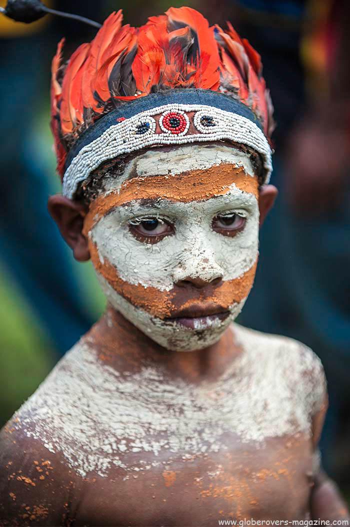 """419"" Unggai Singsing Group, Sambu, 2014 Goroka Festival. Papua New Guinea"