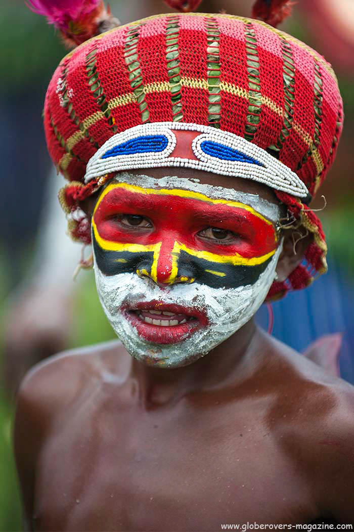 Junner Rolex Singsing Group, 2014 Goroka Festival. Papua New Guinea