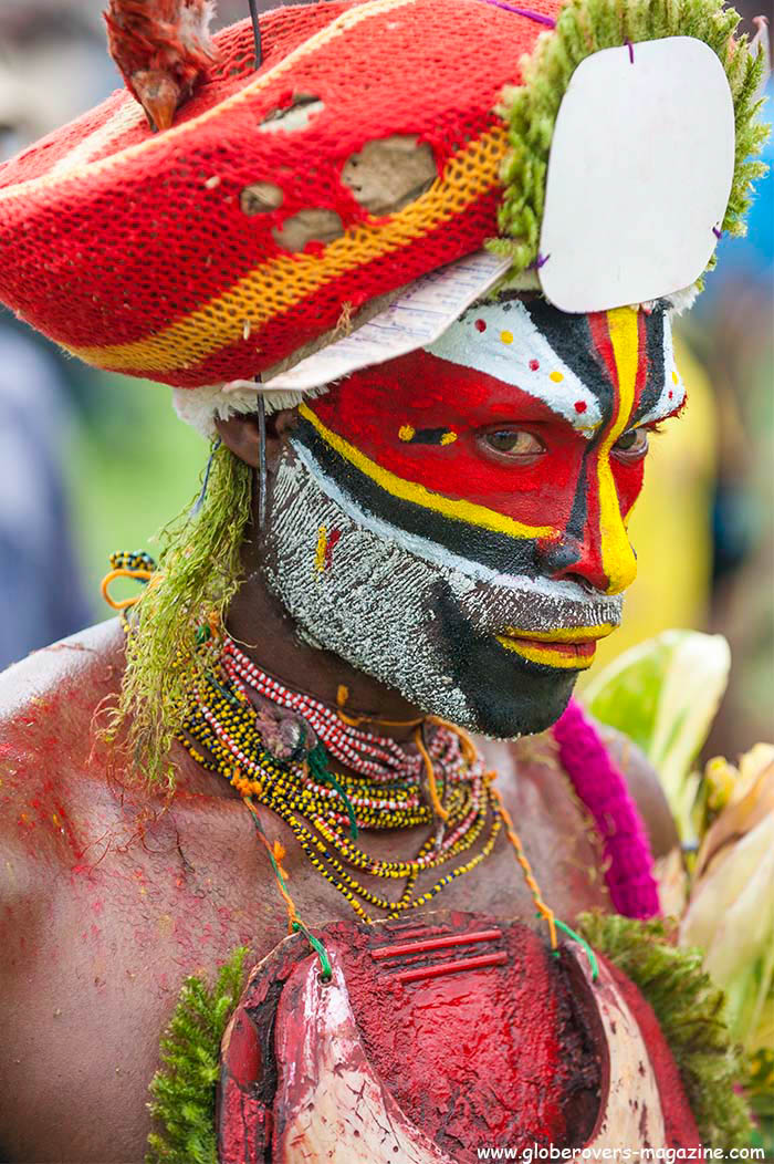 Pines Power Singsing Group, Western Highlands Province, 2014 Goroka Festival, Papua New Guinea