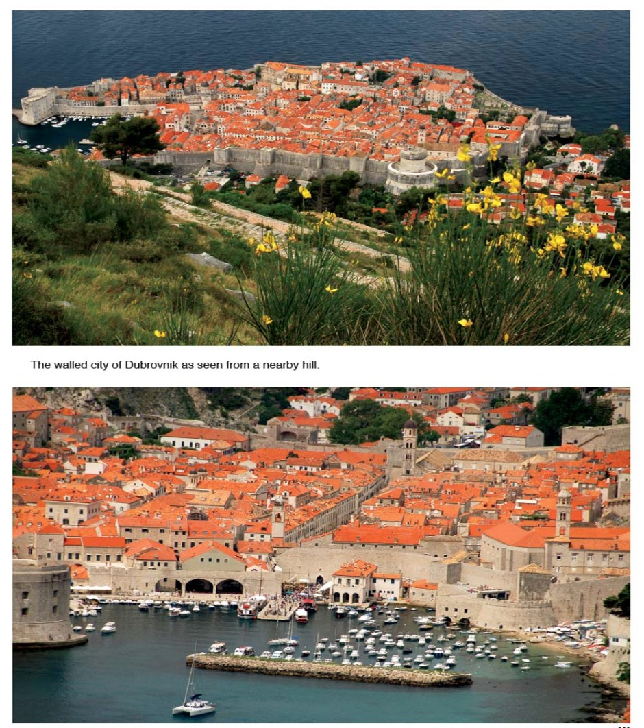 Located on the Adriatic Sea, the city of Dubrovnik is among the 10 best preserved medieval walled cities in the world.
