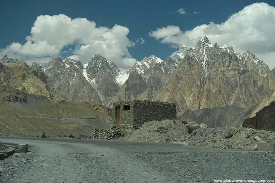 Around Gulmit Village in the Upper Hunza Valley north of the Attabad Lake, Hunza Vallay, PAKISTAN