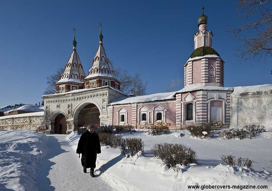 The Holy Gates at the Monastery of the Deposition of the Robe, Suzdal, Russia