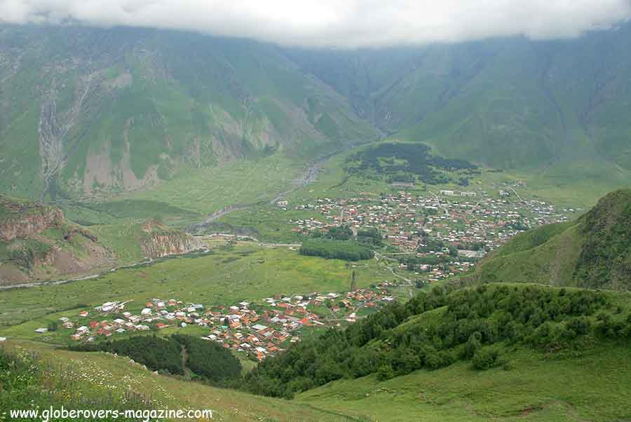 Kazbegi village, Georgia