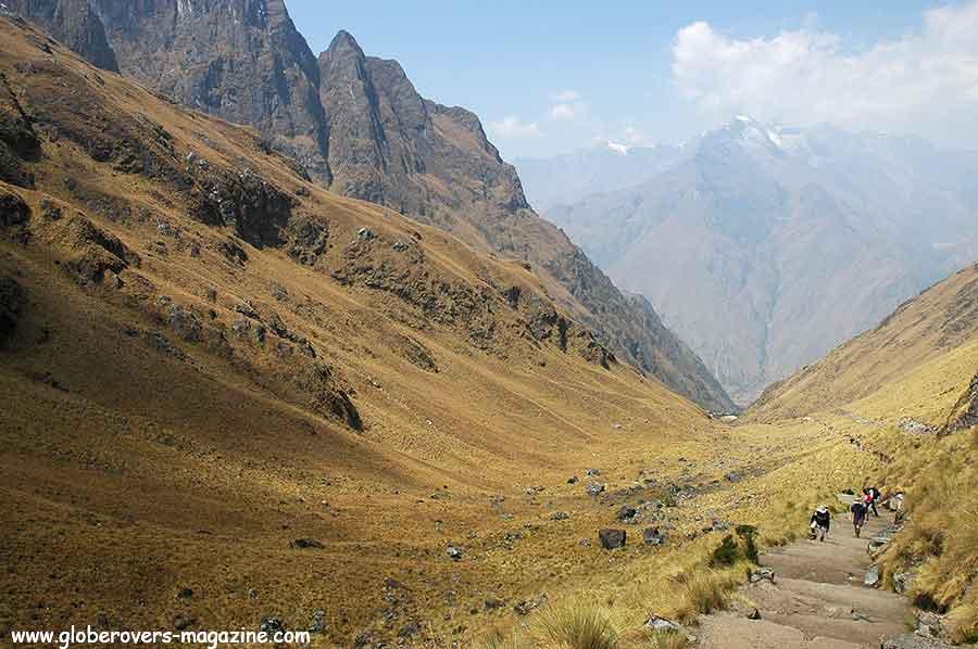 Inka Trail hike to Machu Picchu, Peru
