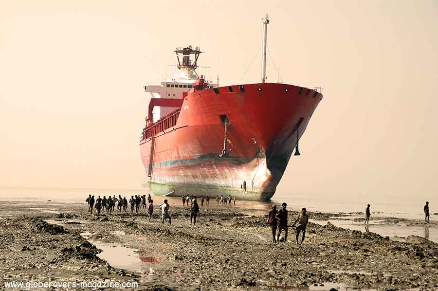 Ship Breaking Yard, Chittagong, Bangladesh