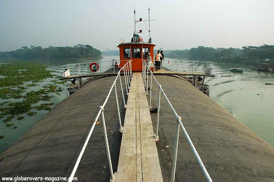 "Boat ride on ""The Rocket"" from Dahaka to Barisal, Bangladesh"