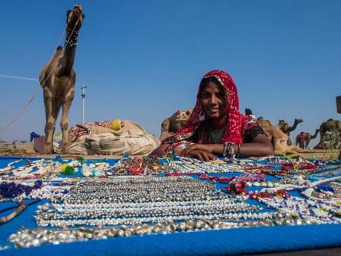 Pushkar Kamelmesse Indien-10