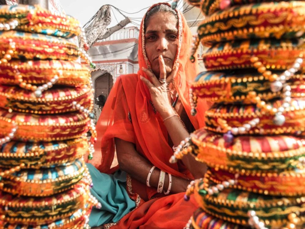 Pushkar Kamelmesse Indien-14