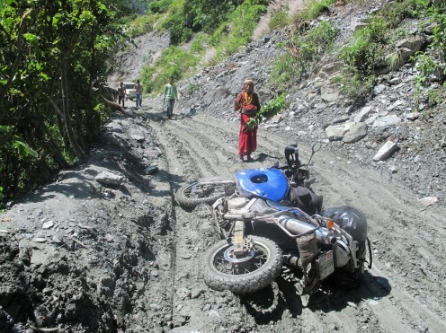 Thierry Wilhelm Motorradreise Indien-07