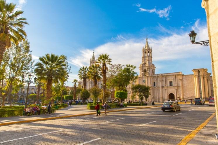 UNESCO Weltkulturerbe Arequipa, Peru