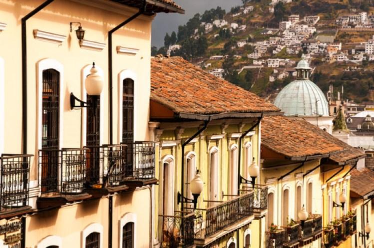 UNESCO Weltkulturerbe Quito, Ecuador