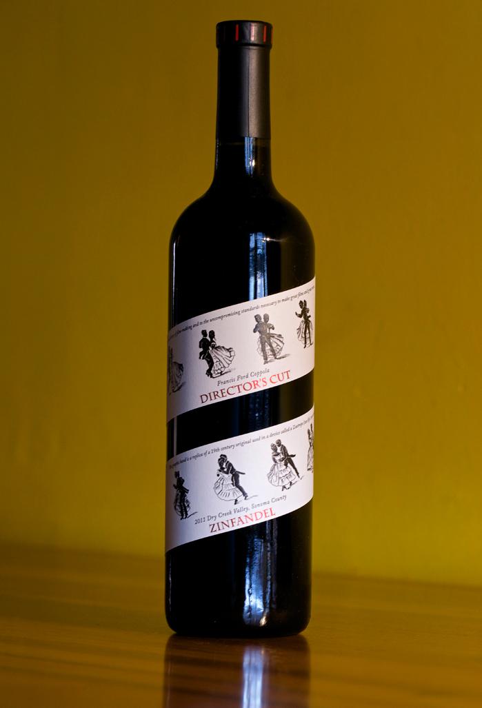 Director's-Cut-Zinfandel-Weinflasche