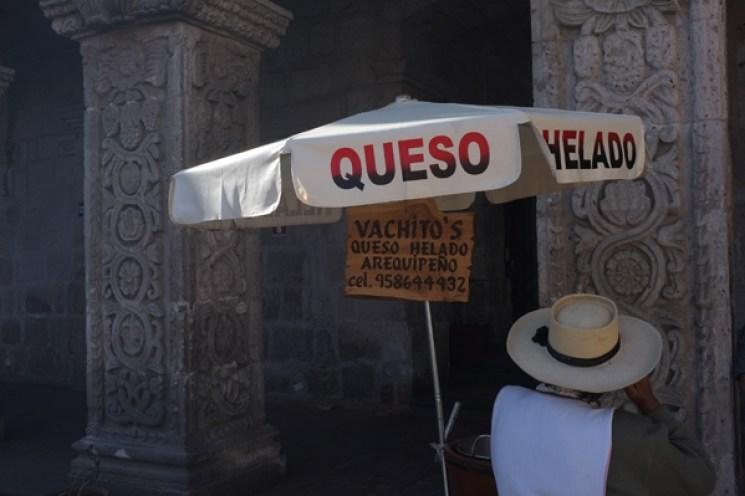 Käse-Eis-Arequipa-Peru